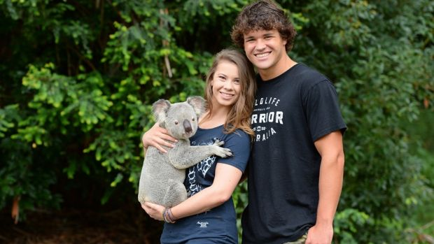 Bindi Irwin and Chandler Powell are spending time together researching crocodiles at the Steve Irwin Wildlife Reserve in ...