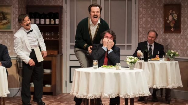 Fawlty towers live review stage farce to the bone for Farcical google translate