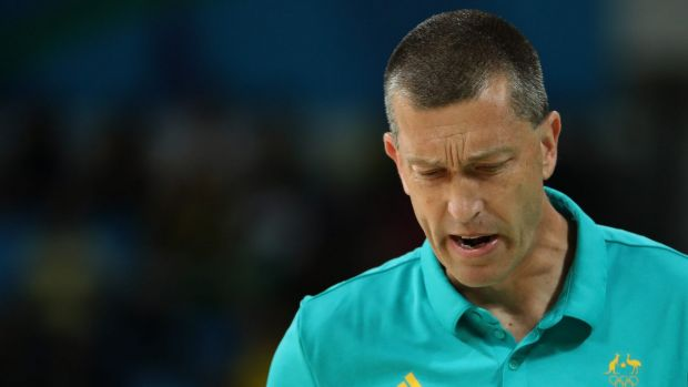 Boomers coach Andrej Lemanis.