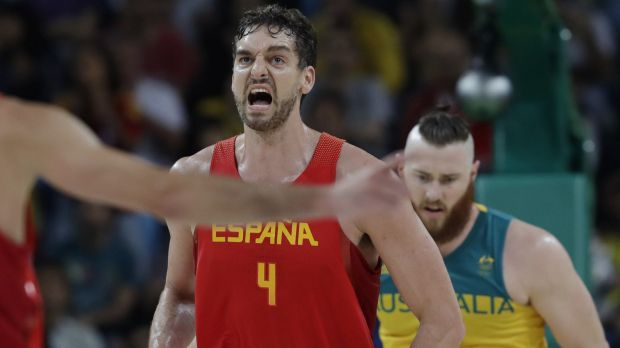 Star man: Spain's Pau Gasol.