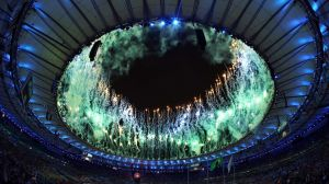 Ending with a bang: The closing ceremony.