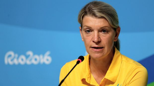 """""""Well short"""": Kitty Chiller sums up Australia's disappointing performance in the Rio Olympics."""