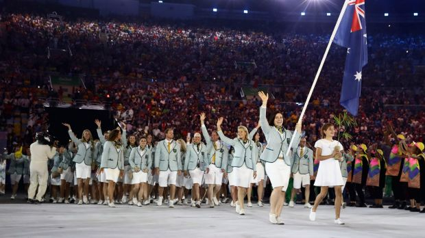 For the first time there were more women in the Australian Olympic team than men.