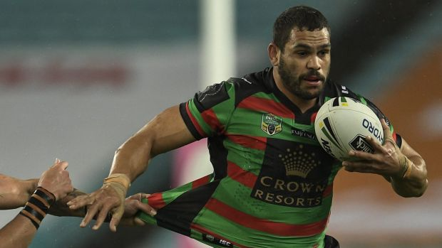 Back to his best: Greg Inglis has been in brilliant form recently.