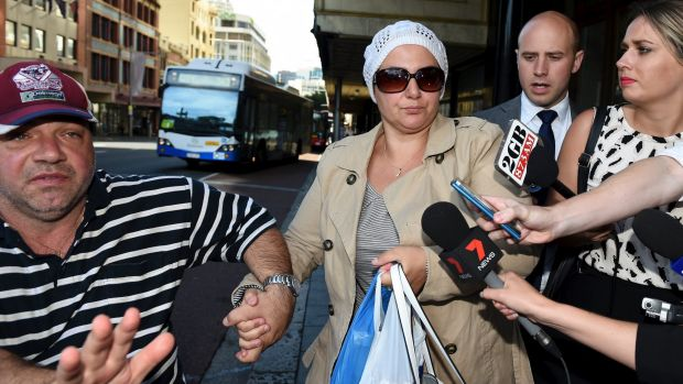 Amirah Droudis, seen during a previous court appearance, has been convicted of murdering Man Haron Monis' ex-wife.