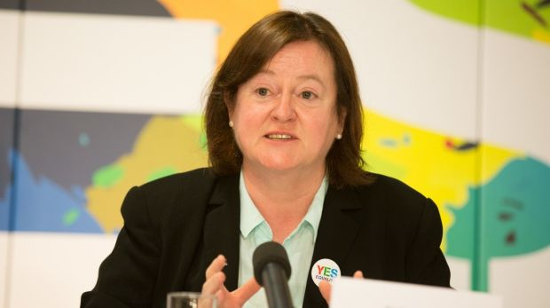 Dr Grainne Healy, co-director of Ireland's Yes Equality campaign