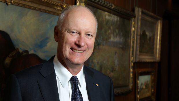 Outgoing Wesfarmers managing director Richard Goyder.