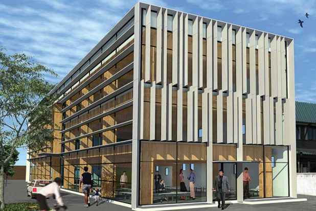 7. The Merritt Building: Completed two years ago, the Merritt Building in Christchurch is a quake-resistant timber ...