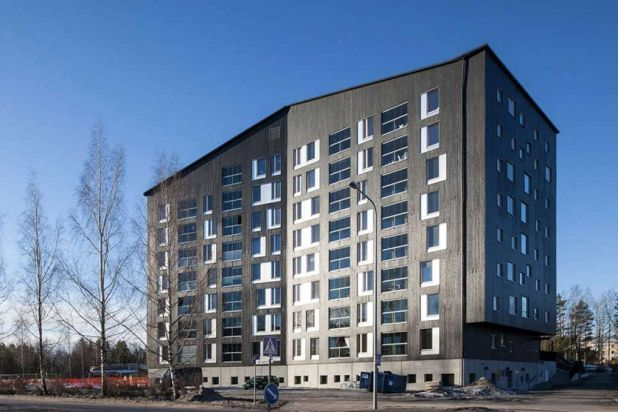 10. The Puukuokka: It may be only eight storeys high, but the Puukuokka apartment building has won architectural awards ...