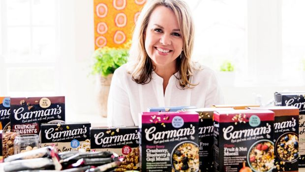Carolyn Creswell, Carman's Fine Foods founder and CEO.