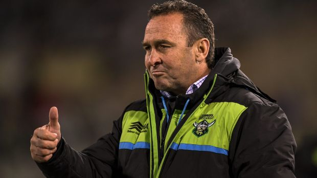The Canberra Raiders board is moving to lock in coach Ricky Stuart until the end of 2020.