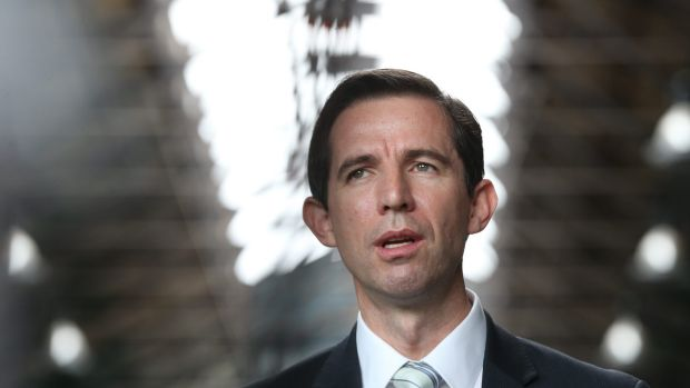 Education Minister Simon Birmingham says VET-FEE HELP will go down in history as one of the great policy failures.