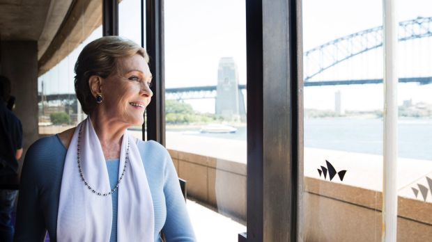 Dame Julie Andrews is in Sydney to direct <i>My Fair Lady</i>.