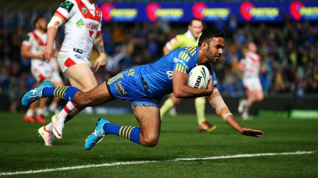 New sensation: Bevan French tore the Dragons to shreds.