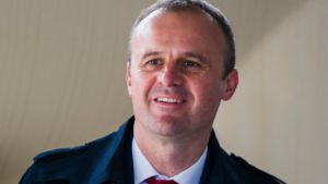 ACT Chief Minister Andrew Barr says he will step in to save Art not Apart if re-elected.