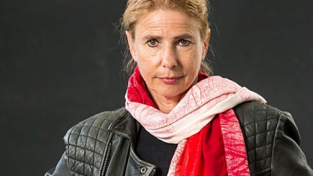 American journalist and author Lionel Shriver.