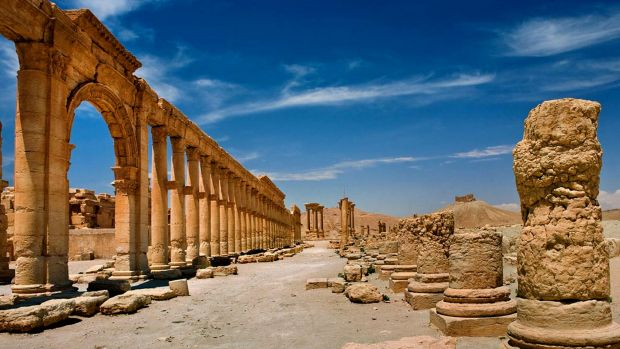 "The ancient city of Palmyra, Syria, was dubbed the ""Venice of the Sands"" before IS demolished its artefacts."