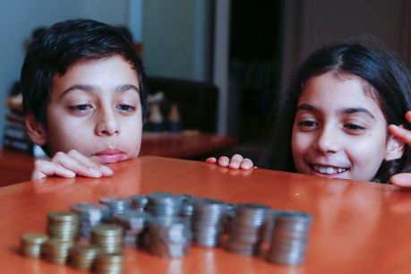 Innovative technology may be able to help teach children how to handle money.