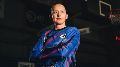 Former Canberra Capital Michelle Cosier is now a referee.