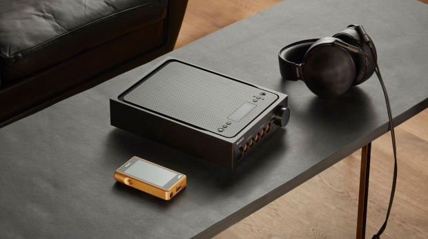 High end: Sony's new NW-WM1Z Walkman, TA-ZH1ES headphone amplifier and MDR-Z1R Hi-Res Audio headphones.