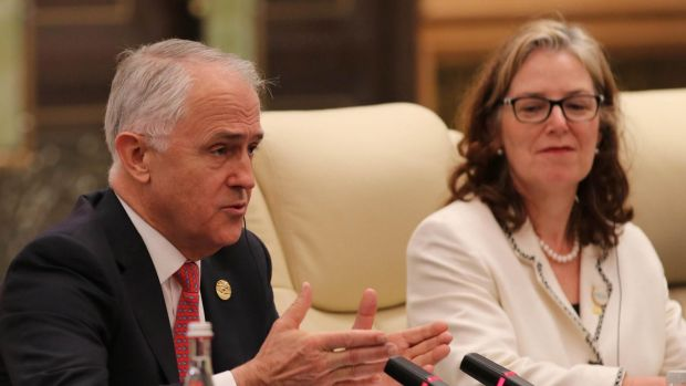 Minister Malcolm Turnbull said it was a lot easier for Chinese companies to invest in Australia than Australian ...