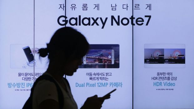 Samsung has sold about 2.5 million Note 7s around the world, with an estimated one in 42,000 units at risk of having a ...