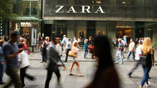 When Zara's first store opened in Sydney's Pitt Street Mall in 2011, security staff were needed to control the queues.