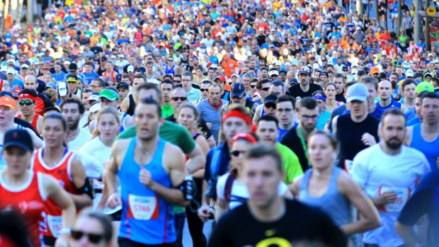 Warm weather greeted thousands of runners in the Sun Herald City 2 Surf Fun Run.
