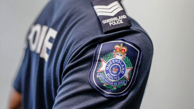 Queensland police are searching for two men who robbed and punched a woman in her home overnight.
