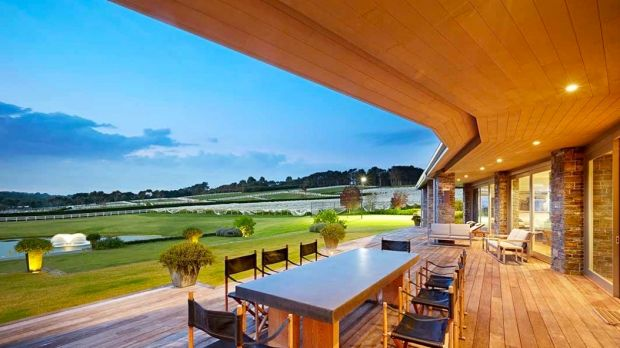 Luxico property Frog Hollow Vineyard which is rented out from $4500 a night.