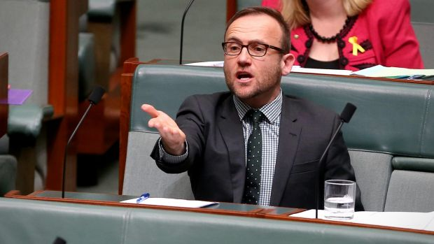 "Greens MP Adam Bandt said on Monday: ""The more coal we burn, the more intense extreme weather events like Cyclone Debbie ..."