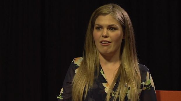 An image of Belle Gibson from the secret video.