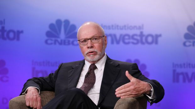 Elliott Management's  billionaire president Paul Singer, who's giving BHP a run for their money, took home $US590 million.