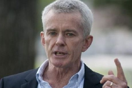 Definitely not an alien: One Nation senator Malcolm Roberts.