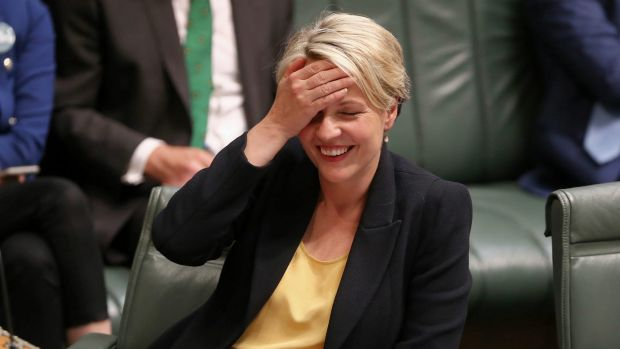 Acting opposition leader Tanya Plibersek during question time on Thursday.