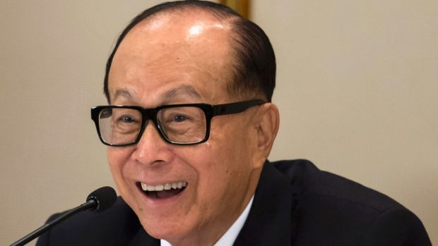 Hong Kong's richest man Li Ka-Shing has not been deterred by last year's failed bid for Ausgrid.