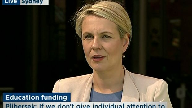 Acting Opposition Leader Tanya Plibersek didn't know Senator Conroy had even quit when asked about it at a press ...