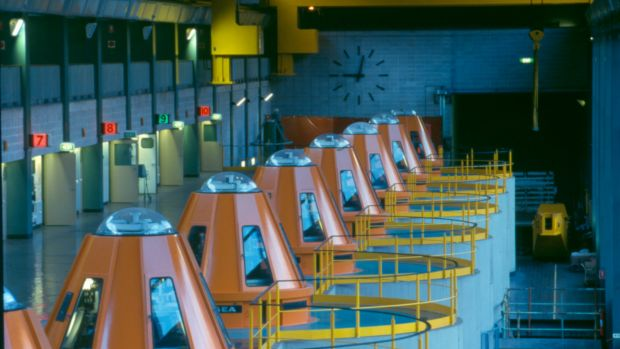An interior picture of the Snowy Hydro Limited's Murray Interior.