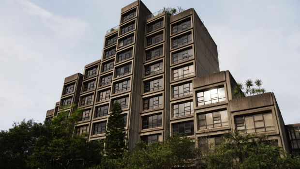 The Sirius Building, an iconic social housing structure in Sydney's The Rocks.
