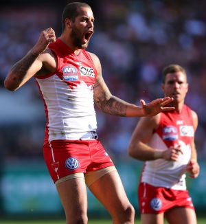 Switched: Sydney Swan Lance Franklin moved from Hawthorn to Sydney as a free agent in 2013.