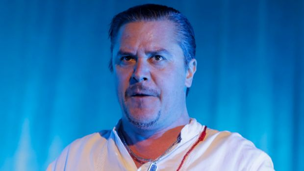 Mike Patton performing with Faith No More in Melbourne last year.