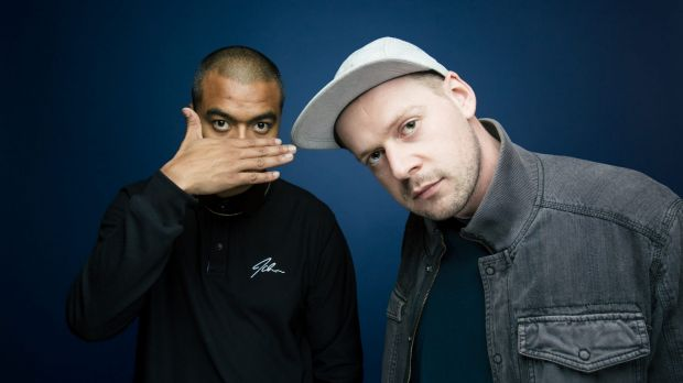 Adit Gauchan (left) and Nick Bryant-Smith, the highly touted cross-cultural duo Horrorshow.