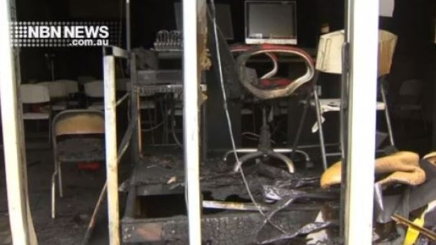 An estimated $200,000 worth of damage was done in the blaze.
