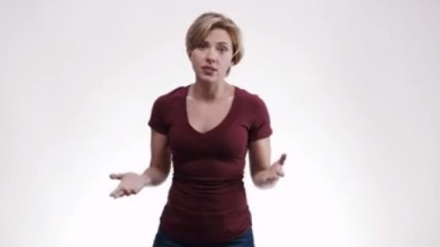 Scarlett Johansson and others urged people to register to vote.