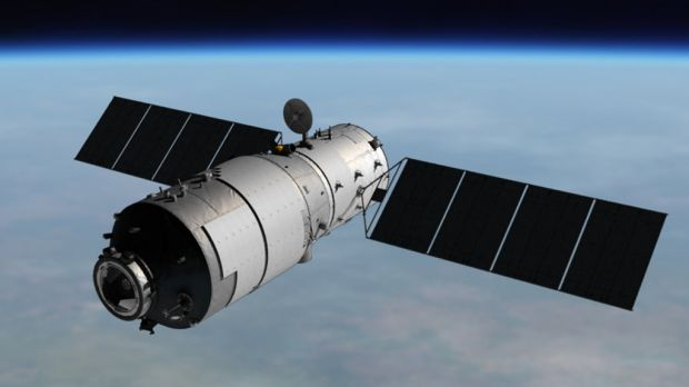 China's Tiangong-1 is heading back to Earth.