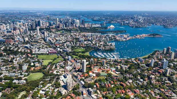 Sydney's property market has soared 118 per cent in a decade, while Perth's house prices increased 4 per cent.