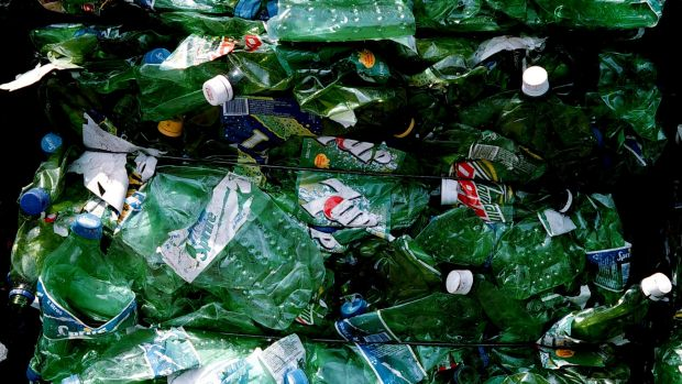 """""""About 300 million tonnes of plastic is produced globally each year, and only roughly 10 per cent gets recycled."""": ..."""