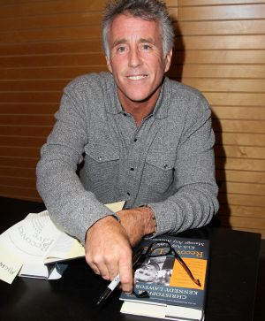 """Christopher Kennedy Lawford at a signing for his book """"Recover to Live: Kick Any Habit, Manage Any Addiction"""" in 2013."""