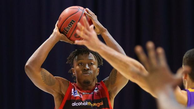 Jaron Johnson has finished up with the Perth Wildcats