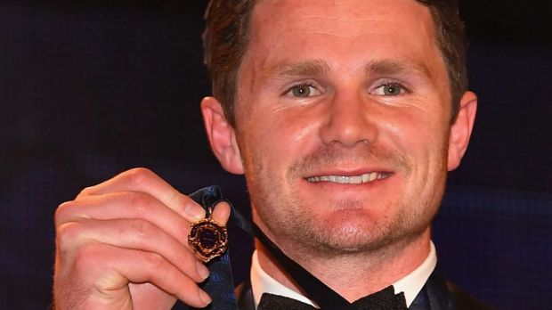 Patrick Dangerfield wins the 2016 Brownlow Medal in record style.